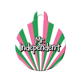 Mr. Independent Republic of NL Colors Circle Pet ID Tag