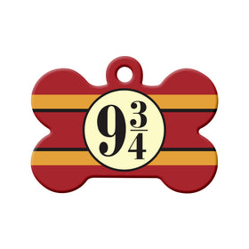 Platform 9¾ (Harry Potter) Bone Pet ID Tag