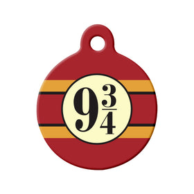 Platform 9¾ (Harry Potter) Circle Pet ID Tag