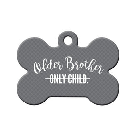Soon-to-be Older Brother Bone Pet ID Tag
