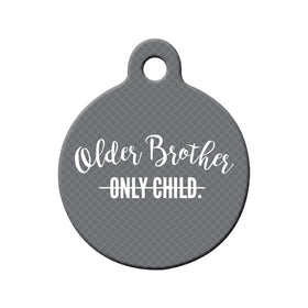 Soon-to-be Older Brother Circle Pet ID Tag