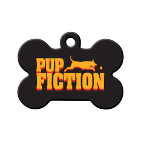 Pup Fiction Bone Pet ID Tag