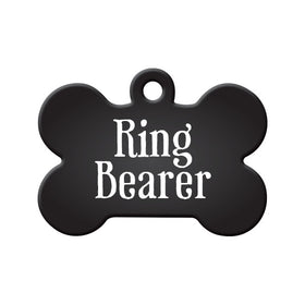 Ring Bearer Bone Pet ID Tag