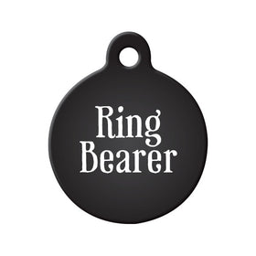 Ring Bearer Circle Pet ID Tag