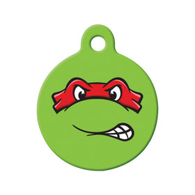 Raphael TMNT Fan Art  Circle Pet ID Tag