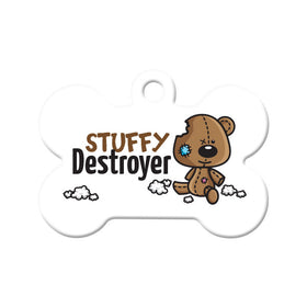 Stuffy Destroyer Bone Pet ID Tag