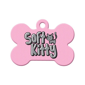 Soft Kitty Bone Pet ID Tag