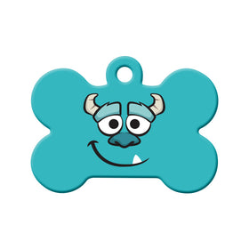 Sulley Monters Inc Bone Pet ID Tag