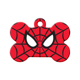 Spiderman Fan Art Bone Pet ID Tag