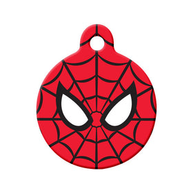 Spiderman Fan Art Circle Pet ID Tag
