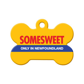 Somesweet NL Bone Pet ID Tag