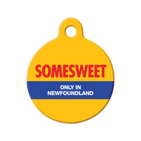 Somesweet NL Circle Pet ID Tag