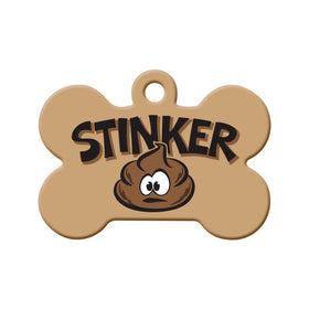 Stinker Bone Pet ID Tag
