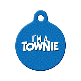 I'm a Townie, NL Circle Pet ID Tag