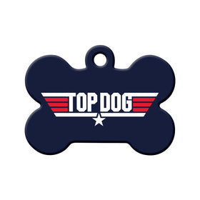 Top Dog/TopGun Bone Pet ID Tag