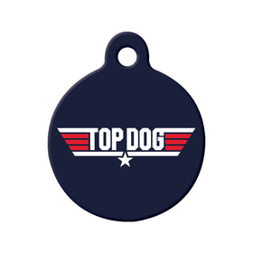 Top Dog/TopGun Circle Pet ID Tag