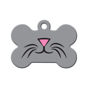 Whiskers Circle Pet ID Tag