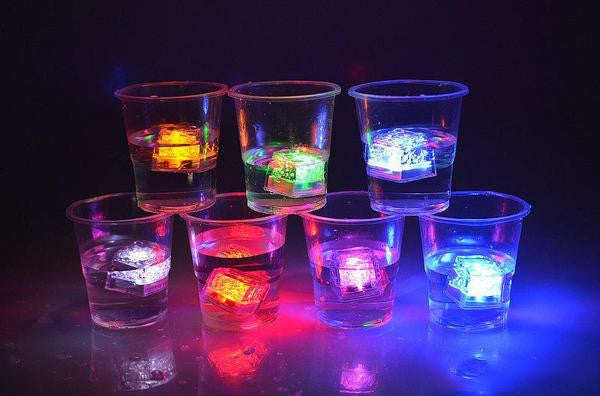 LED Water Activated Ice Cubes (Set of 2)