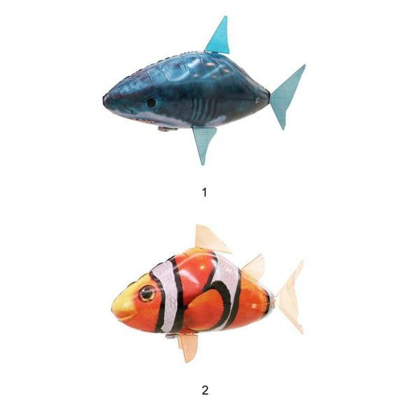 AIR SWIMMERS RC FLYING SHARK / CLOWNFISH