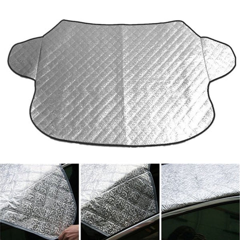 Car Front Window Windscreedn Sunshade Blind Cover Snow Frost Protector Shield
