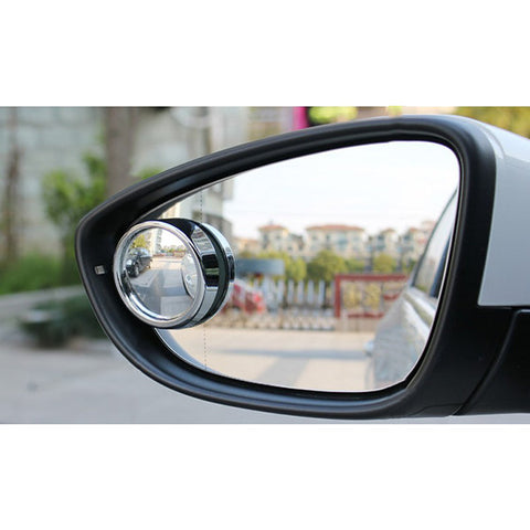 SD-2401 Car Rear View/Small Round/Wide Angle Mirror Adjustable