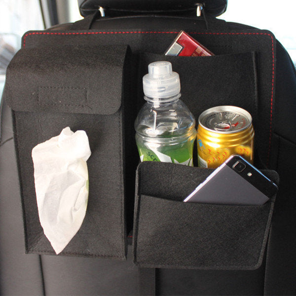 Chair Back Car Storage Bag Multi-Function Organizer