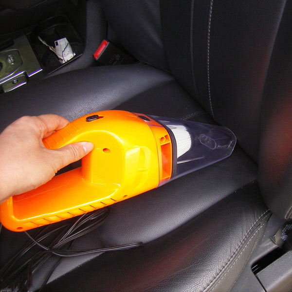 12V 120W Mini Handheld Vacuum Cleaner Dust In-Car Portable Wet & Dry Car Home