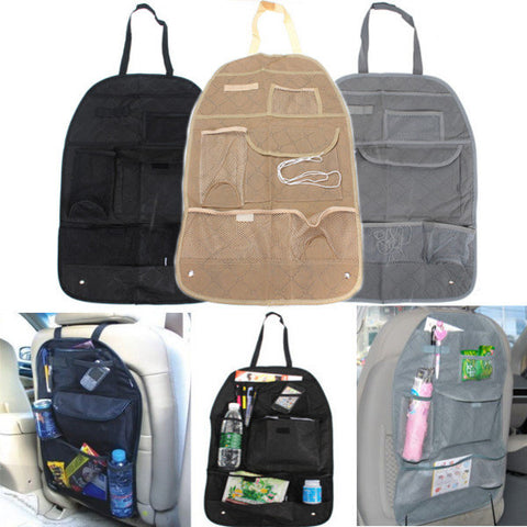 Car Back Seat Organizer Travel Multi Pocket Storage Bag