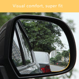 2PCS Adjustable Car Convex Blind Spot Side Rear View Mirror Wide Angle