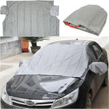 Magnetic Car Windscreedn Cover Anti Snow Frost Ice Cotton Window Mirror Protector