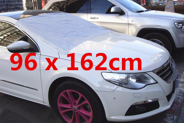 96 x 162cm Car Windscreed Magnetic Protector Cover Ice Frost Shield Snow Dust