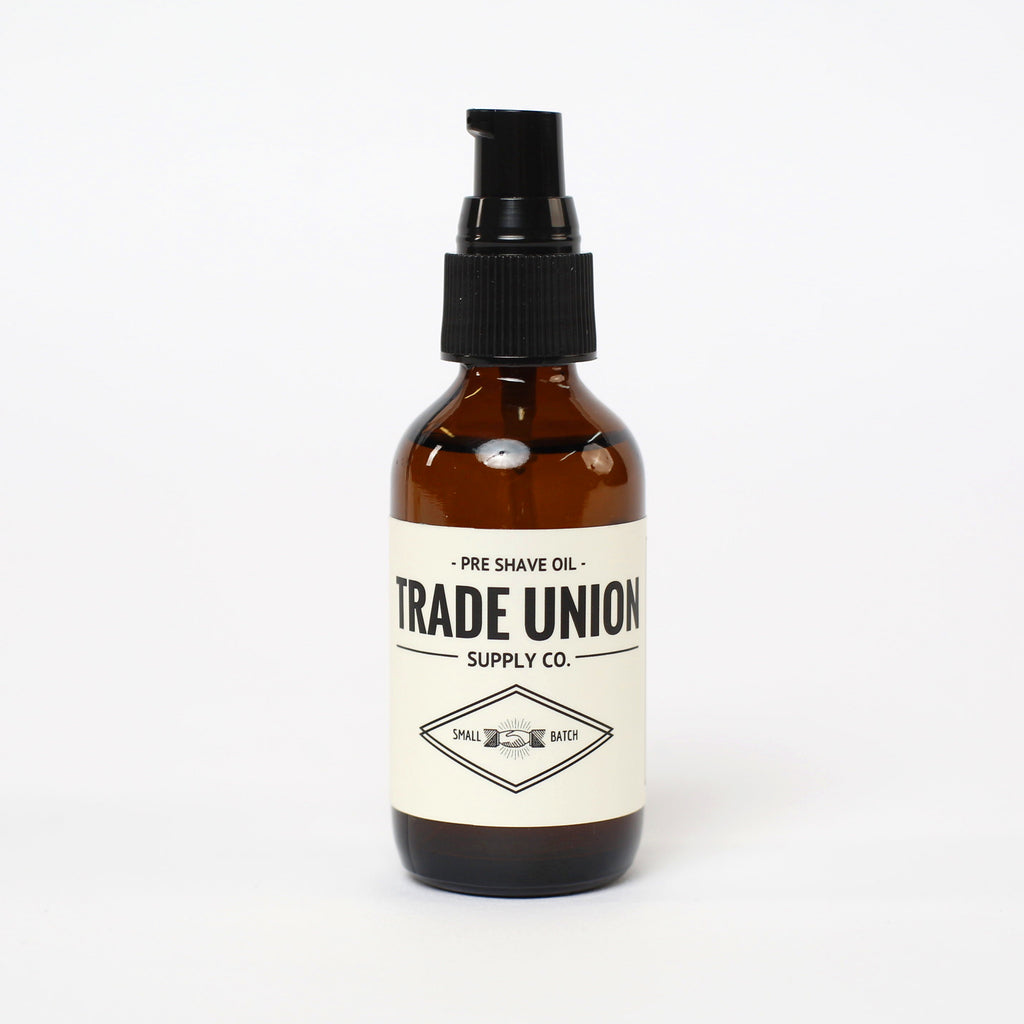 Pre Shave Oil - Trade Union Supply Co.