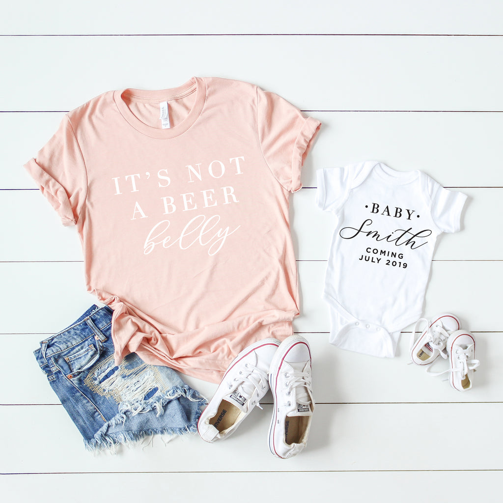 Beer Belly Tee Set