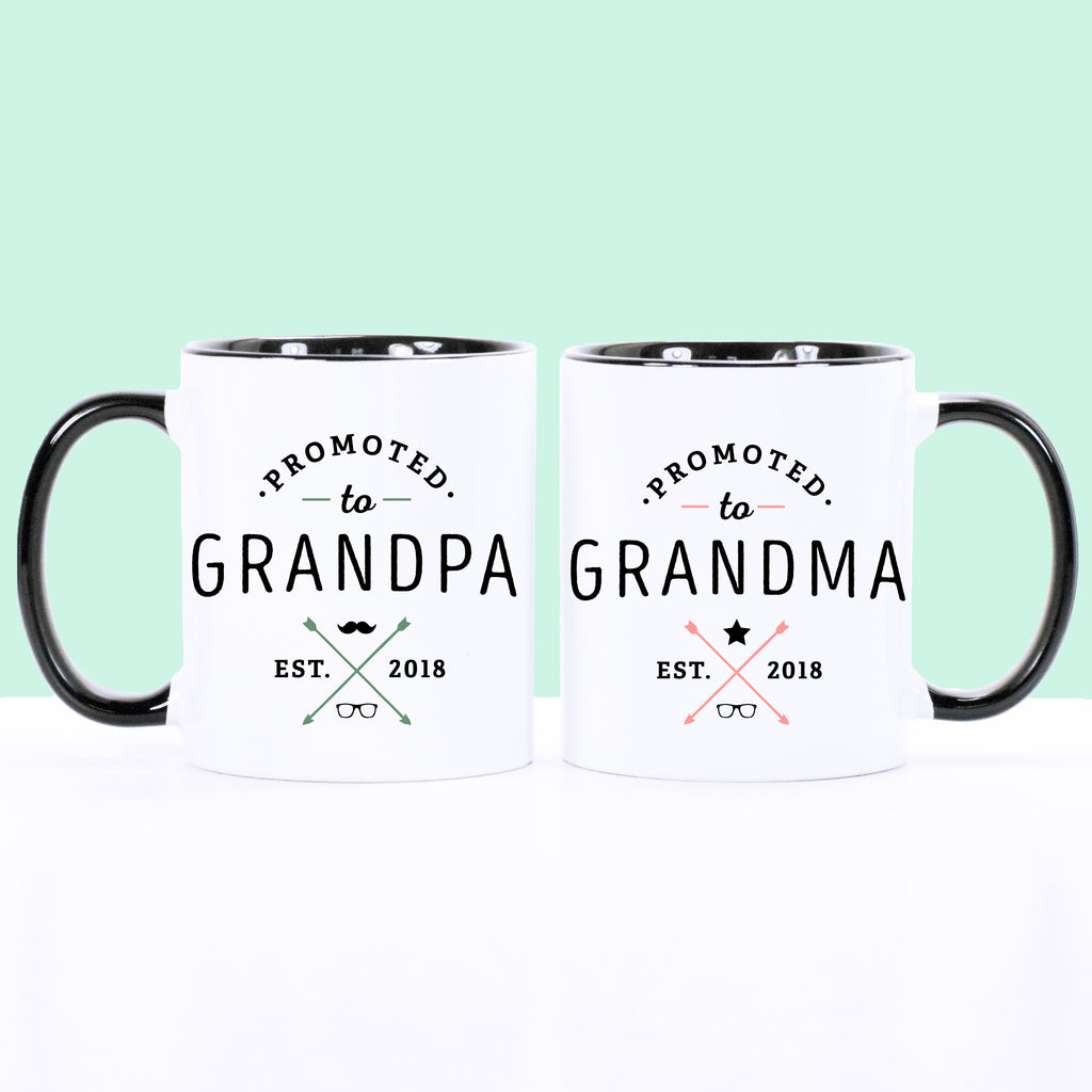 Promoted to Grandparents Set