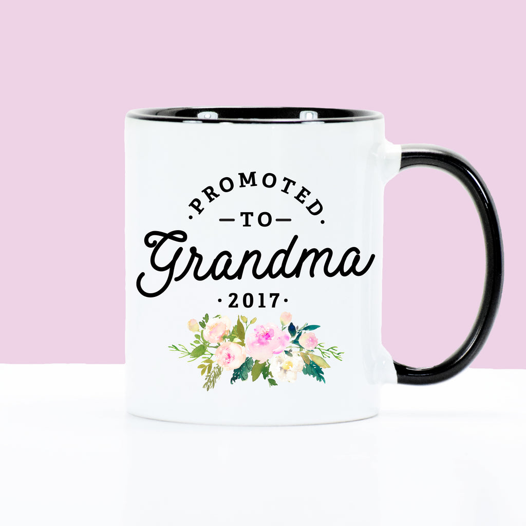 Promoted to Grandma - Floral Bouquet