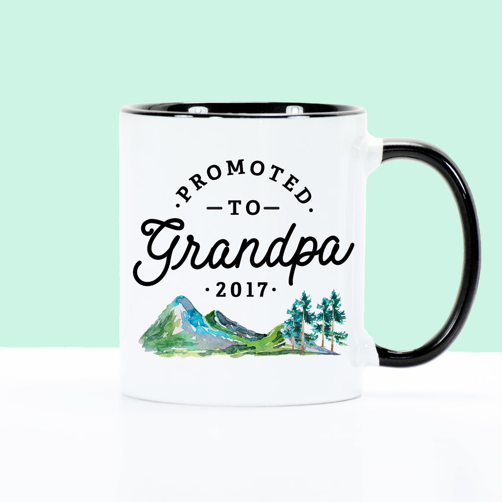 Promoted to Grandpa - Mountains