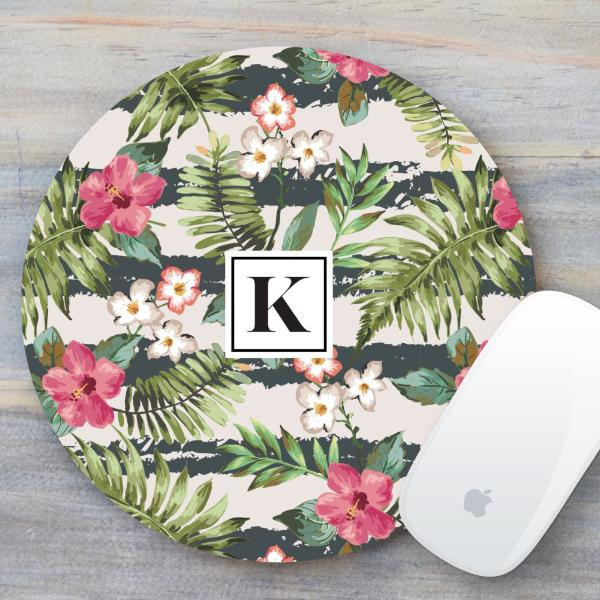 Tropical / Floral Mouse Pad