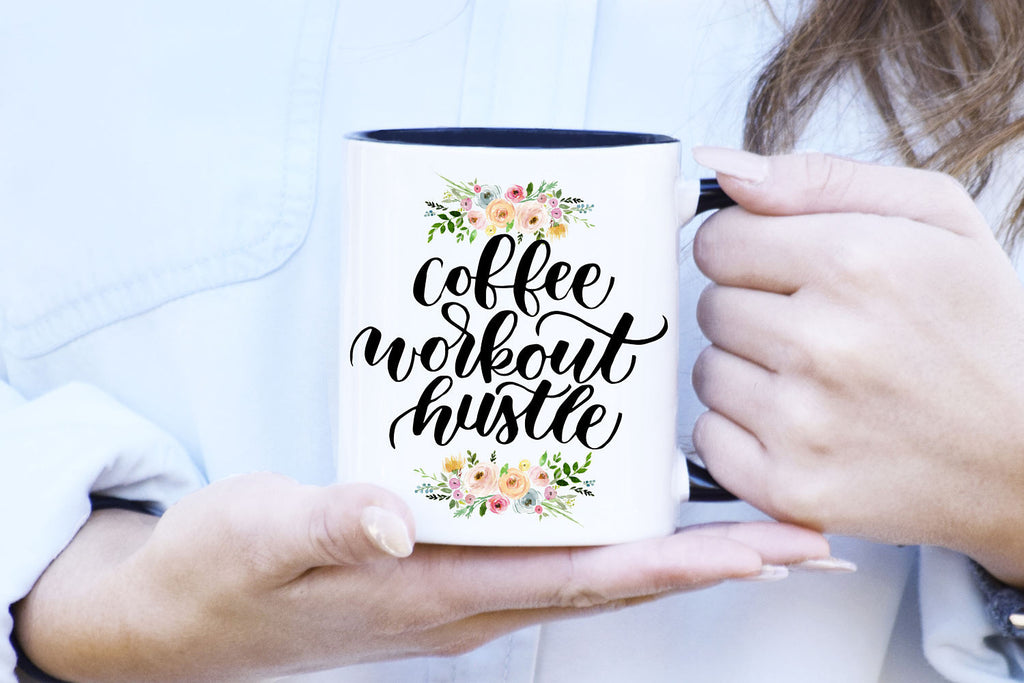 Coffee Workout Hustle Mug