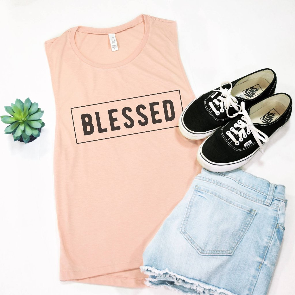 Blessed Muscle Tee