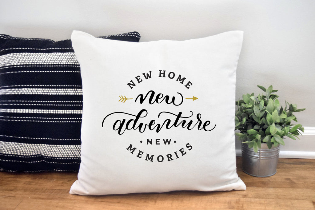New Home Pillow Cover