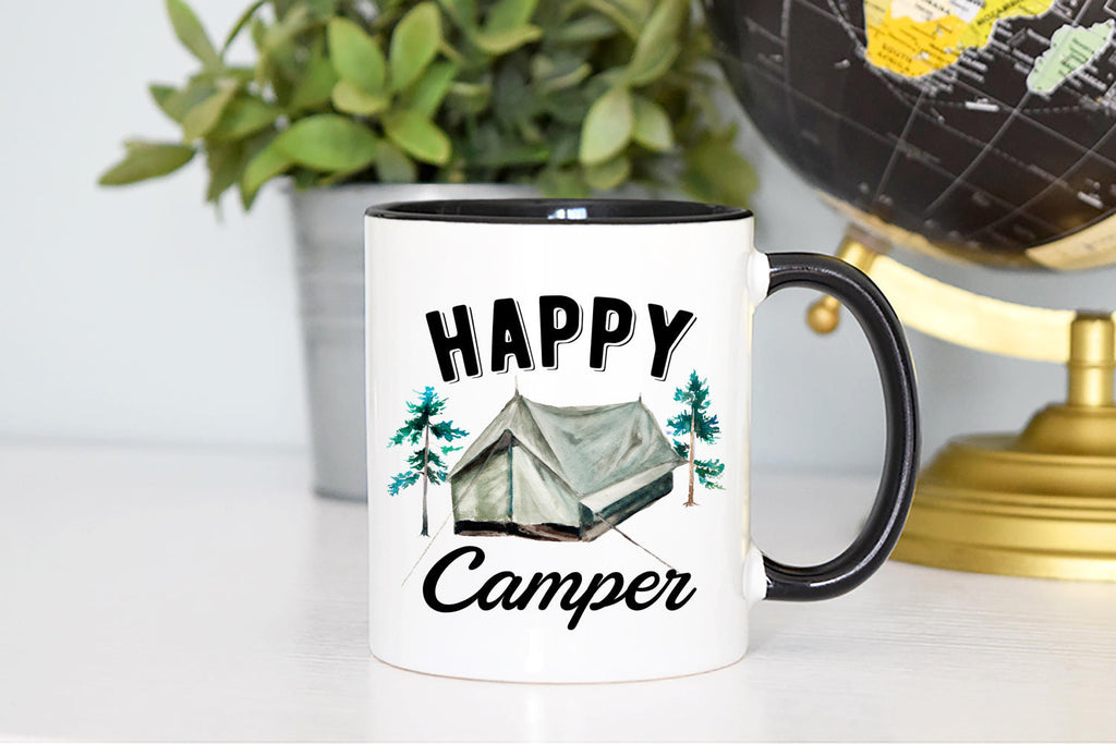Happy Camper Mug - Tent