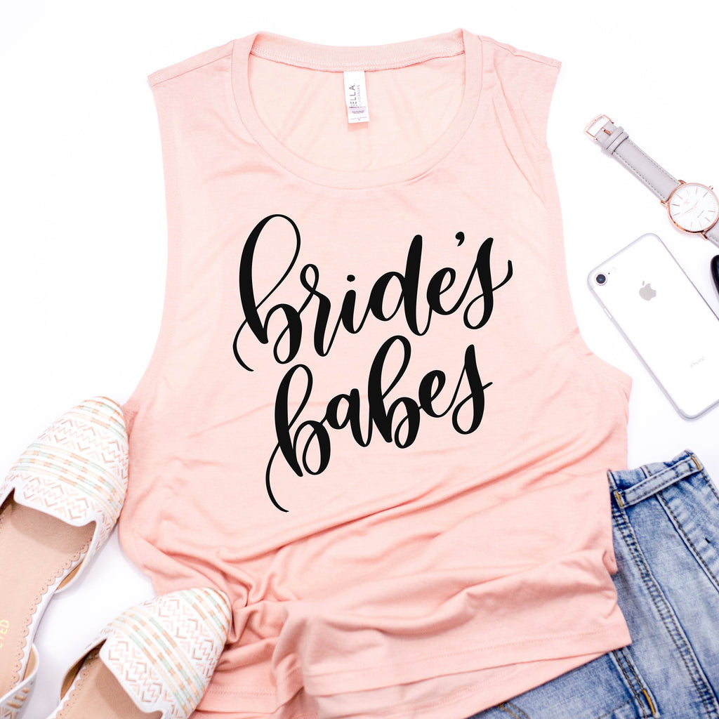 Bride's Babes Muscle Tee