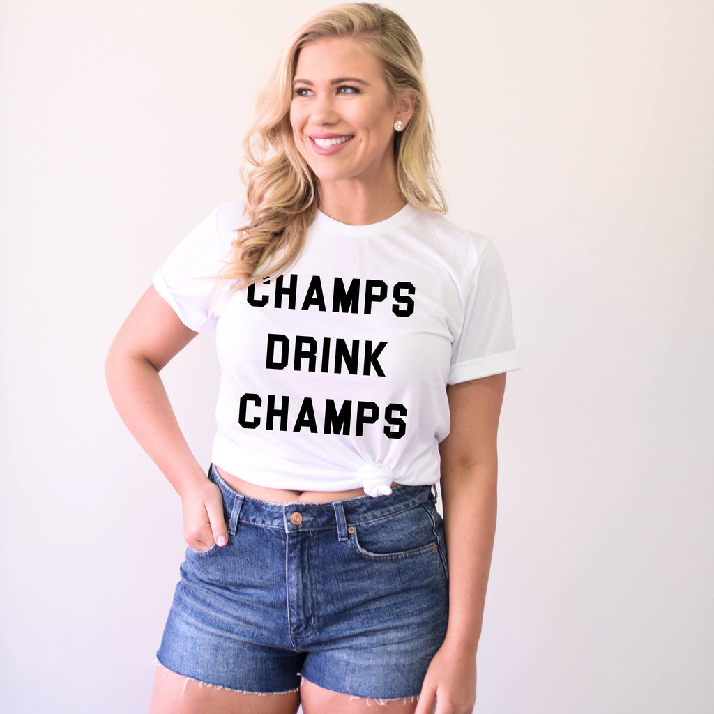 Champs Drink Champs Unisex Fit