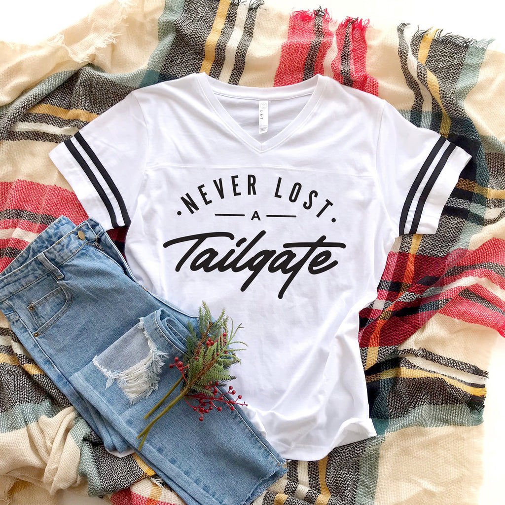 Never Lost a Tailgate Football Tee