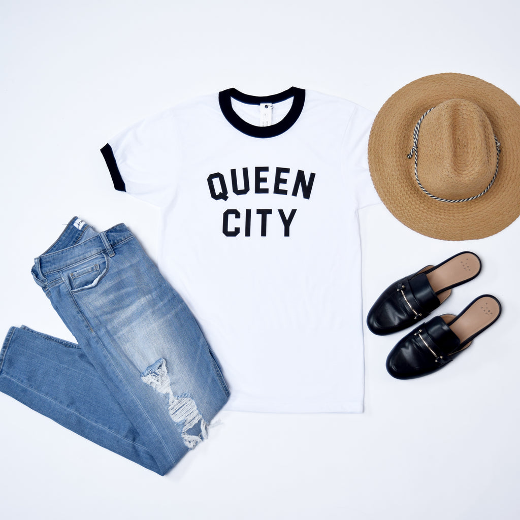 Queen City Ringer Tee