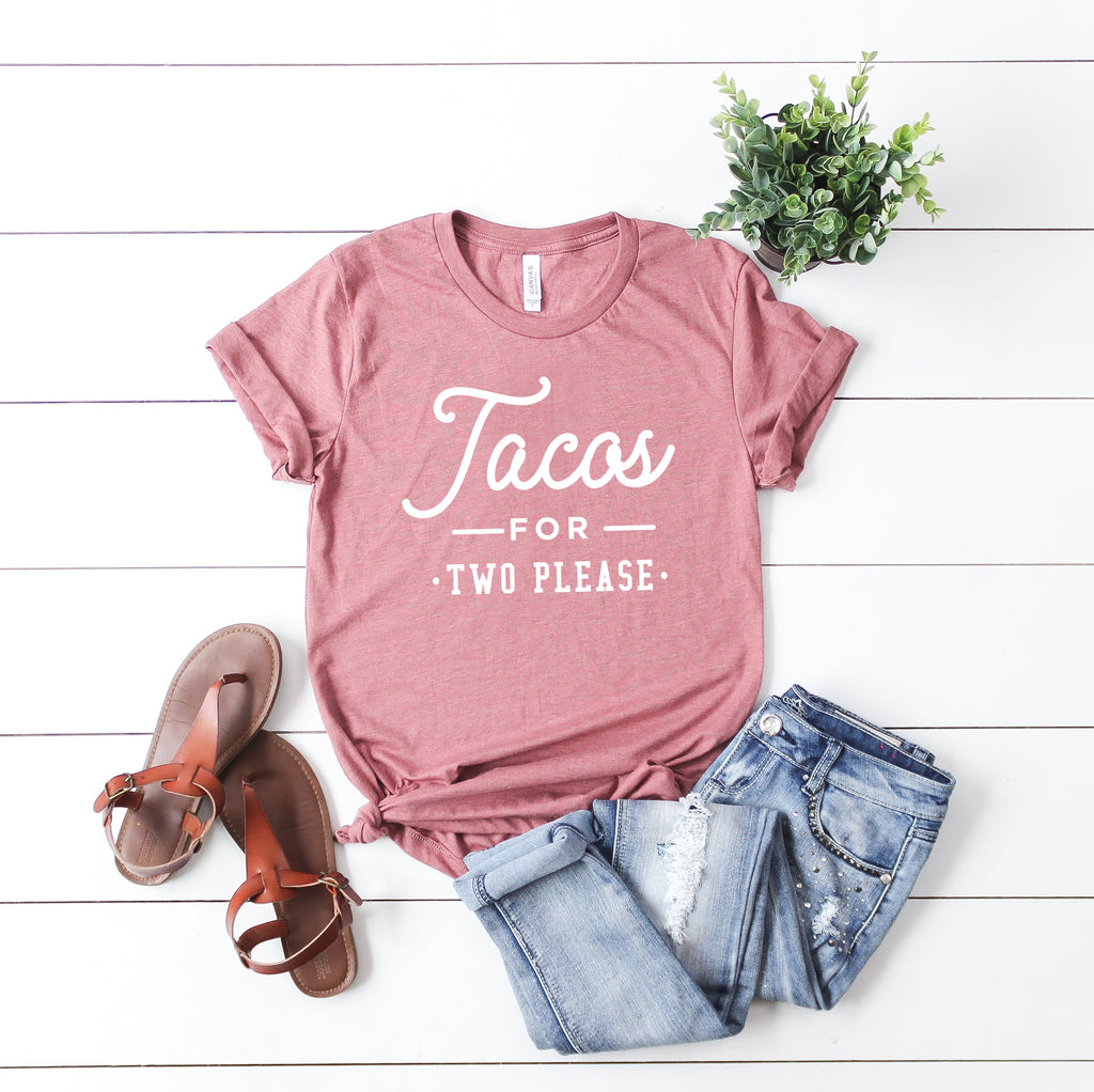 Tacos and Tequila Pregnancy Announcement Set