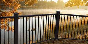 MoistureShield Pro Aluminum Railing