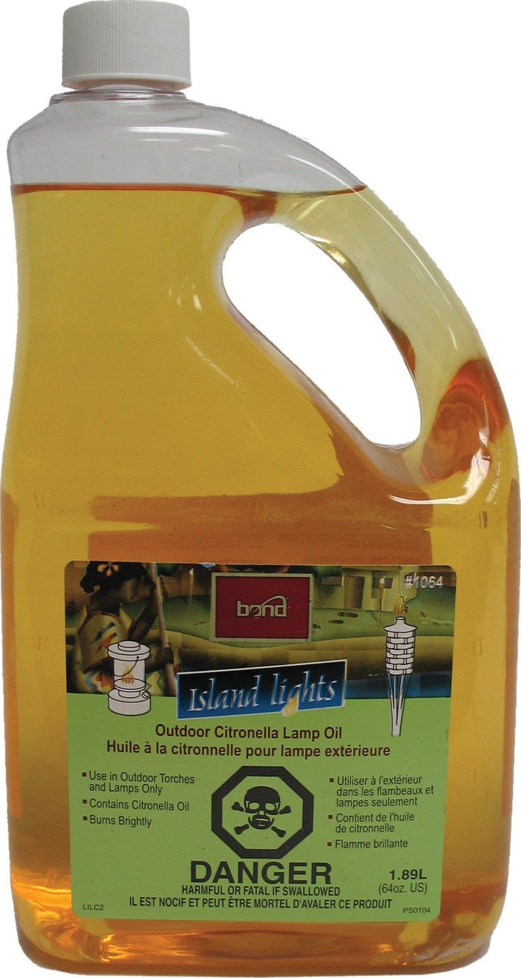 Garden Citronella Oil Torch Fuel 64 oz. , Bond- grayburd