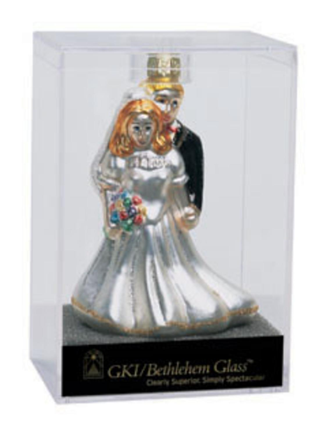 Set-of-24-Glittery-4-Bride-And-Groom-Glass-Wedding-Christmas-Ornament-#822204