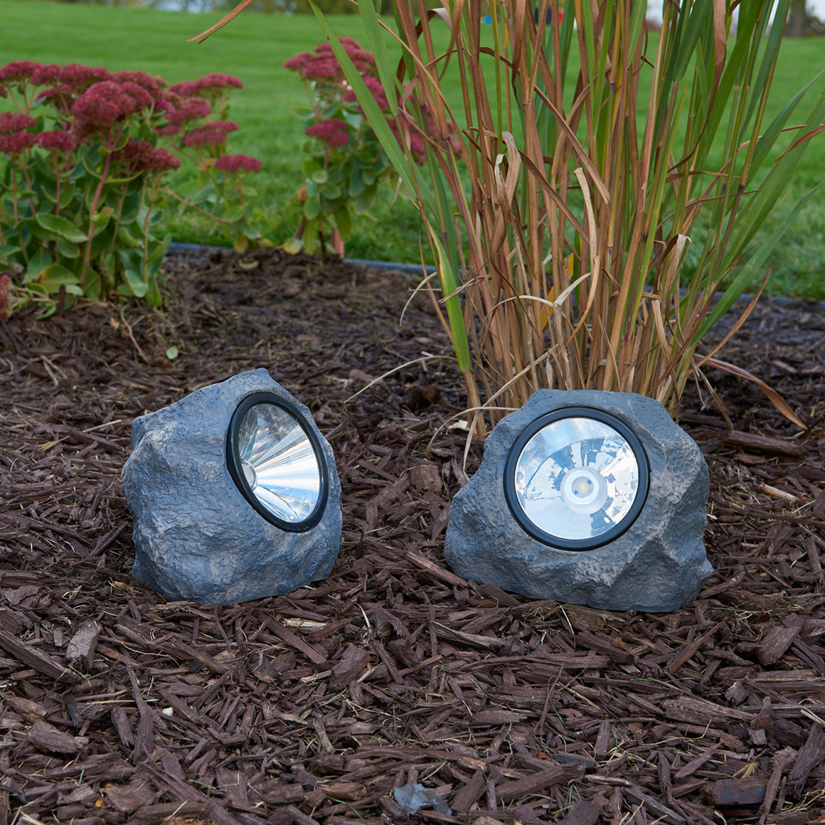 Solar Rock Light